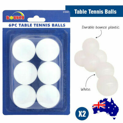 AU12.25 • Buy Table Tennis Ping Pong 12 Pack Competition Balls White