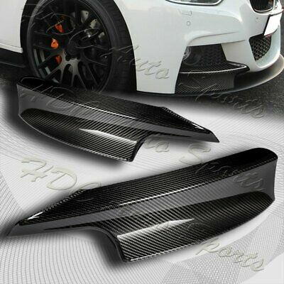 AU138.94 • Buy For 12-18 BMW 3-Series F30 M-Sport Real Carbon Front Bumper Splitter Spoiler Lip