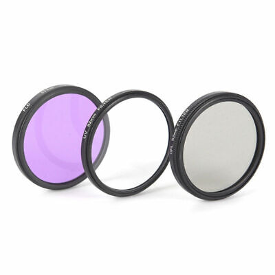 Camera UV CPL FLD Lens Filter Set Protector For Canon Nikon Sony Olympus Pentax • 9.98£