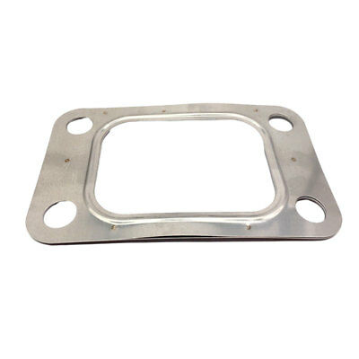 $ CDN9.38 • Buy T304SS 5 Layers T4 Turbo Flange Gasket 4 Bolt T04E T66 T70 Exhaust Inlet Outlet