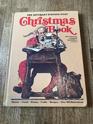$ CDN3.43 • Buy The Saturday Evening Post Christmas Book Norman Rockwell Hardcover
