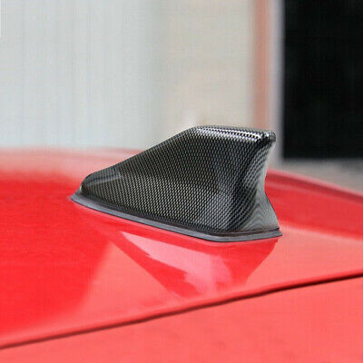 $ CDN13.87 • Buy 1pc Carbon Fiber Auto Car Shark Fin Roof Antenna Radio AM/FM Signal Aerial Parts