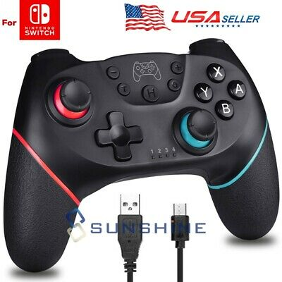 $26.92 • Buy Wireless Controller For Nintendo Switch, Pro Gamepad Controller Dual Vibration