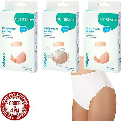 £3.59 • Buy Disposable Maternity Knickers Hospital Pregnancy Post Partum Pants Brief Babyono