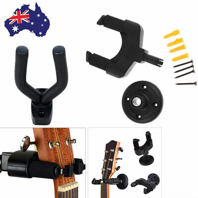 AU12.99 • Buy Guitar Hanger Stand Electric Acoustic Guitar Mandolin Ukulele Wall Mount Bracket