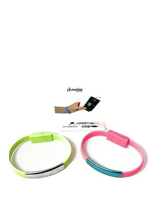 $9.99 • Buy Micro USB Bracelet Wristband Charging Data Cable Cord Line For Andriod
