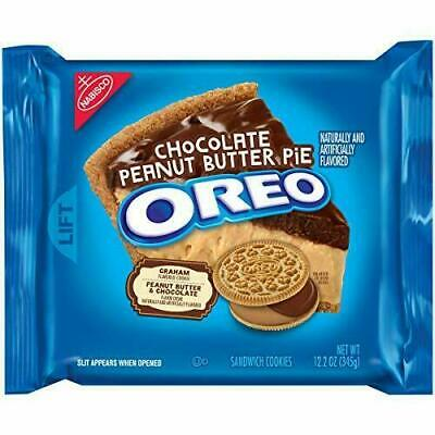 Oreo Chocolate Peanut Butter Pie Sandwich Cookies • 10.72£