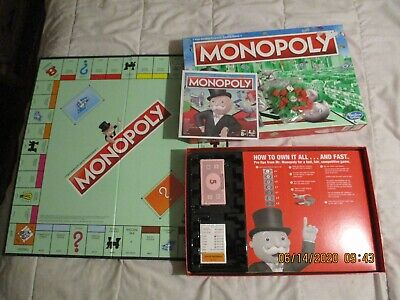 Hasbro Monopoly Game From 1997 , New In Open Box - But Tokens Have Gone Away • 5.30£