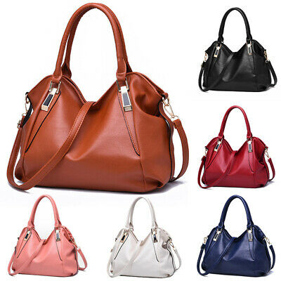 AU32.44 • Buy Designer Women PU Leather Handbags Shoulder Bags Messenger Hobo Tote Purse