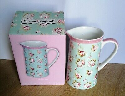 Martha Collection 2012 Forever England Floral Fine Bone China Jug New With Box • 15.95£