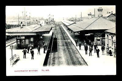 Llantrisant Railway Station - South Of Pontypridd - Printed Postcard • 20£