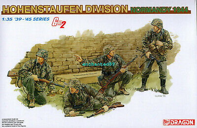 Dragon 6282 1/35 WWII German Hohenstaufen Division (Normandy 1944) (4 Figures) • 41.40£