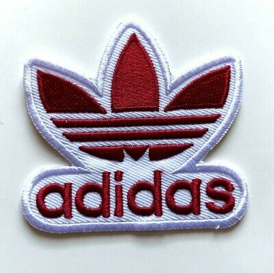 ADIDAS TREFOIL - Logo Embroidered Iron On Sew On PATCH#1 • 1.99£
