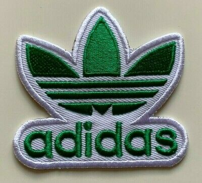 ADIDAS TREFOIL - Logo Embroidered Iron On Sew On PATCH#8 • 1.99£