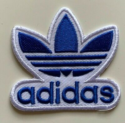 ADIDAS TREFOIL - Logo Embroidered Iron On Sew On PATCH#15 • 3.99£