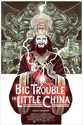 Mondo Print Poster Big Trouble In Little China Sold Out In Hand Uk • 64.99£