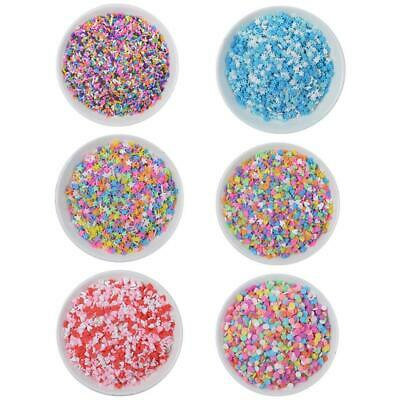 AU7.97 • Buy 100g Box Clay Sprinkles For Filler For Slime DIY Fake Sale Candy Decor Supplies