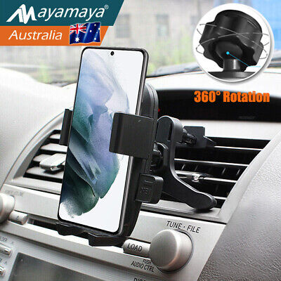 AU15.99 • Buy Air Vent Car Phone Holder Cradle Mount Stand Fr Samsung Galaxy Note/20/Plus/ S10