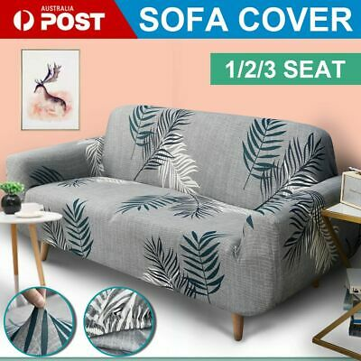 AU22.99 • Buy AU 1/2/3/4 Seater Furniture Comfortable Floral Elastic Sofa Cover Stretch Couch