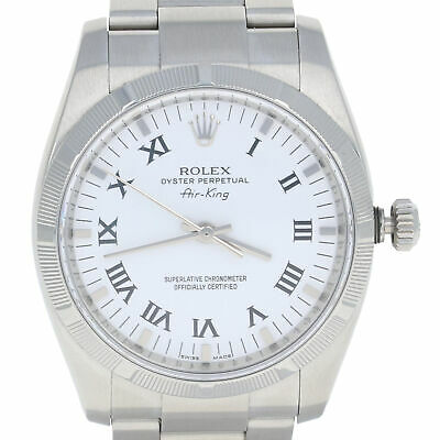 $ CDN4933.56 • Buy Rolex Air-King Men's Watch - Stainless Steel Automatic 2 Yr Warranty 114210