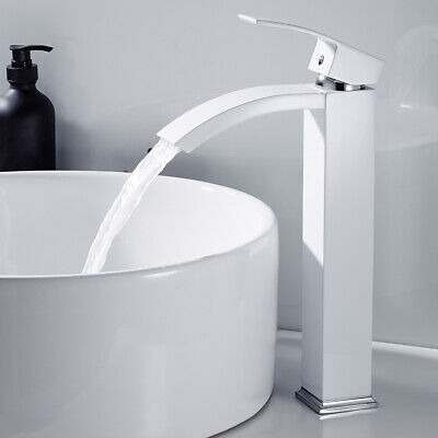 Modern Bathroom Taps Kitchen Sink Mixer Tap Basin Counter Top Cloakroom Faucet  • 31.99£