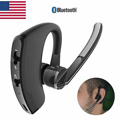 $11.96 • Buy Trucker Wireless Mic Bluetooth Noise Cancelling Headset Earpiece New Ear Hook