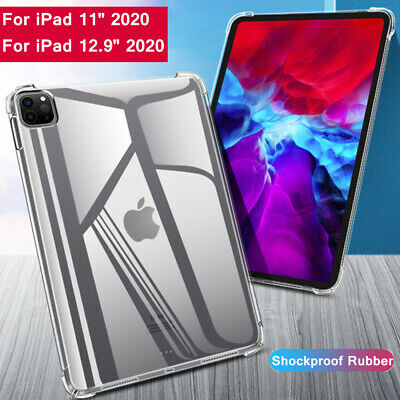 AU14.56 • Buy For IPad 2020 Pro 11 Pro 12.9 Case Shockproof Soft Silicone TPU Clear Slim Cover