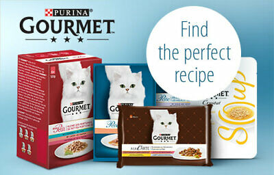 PURINA GOURMET Perle Cat Food. FIND THE PERFECT RECIPE • 23.49£