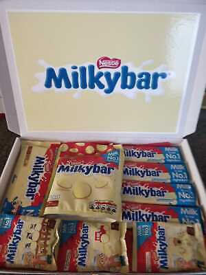 Milky Bar Buttons White Chocolate Gift Box Baby 1st Christmas  FREE 1ST CLASS • 9.95£