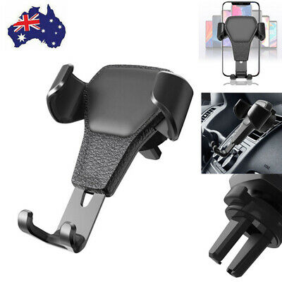 AU9.99 • Buy Universal Gravity Car Holder Mount Air Vent Stand Cradle For Mobile Cell Phone