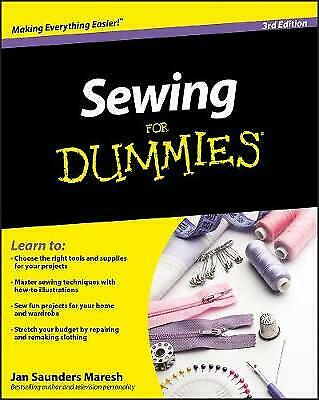 Sewing For Dummies - 9780470623206 • 11.37£
