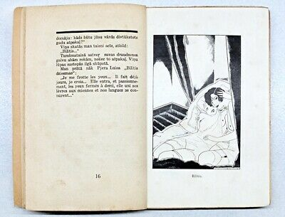 $ CDN244.37 • Buy EROTIC Drawings By Sigismunds VIDBERGS In Richards Valdess SAD CAFE Latvia 1929