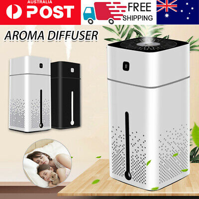 AU15.59 • Buy Aroma Aromatherapy Diffuser Essential Oil Ultrasonic Air Humidifier Purifier 1L