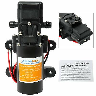 $21.90 • Buy Water Pressure Pump 12V DC 1.2 GPM 35 PSI 21 Series Diaphragm For Fishing Boat