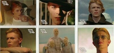 The Man Who Fell To Earth David Bowie Preview Card Set + PR2 Promo Card  • 7.95£