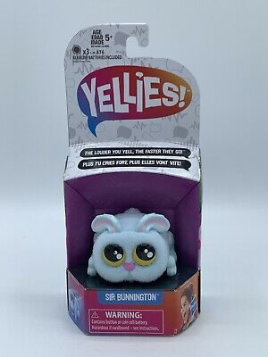 $11.99 • Buy Yellies! Sir Bunnington Voice-Activated Bunny Pet Toy Hasbro - NEW!!!