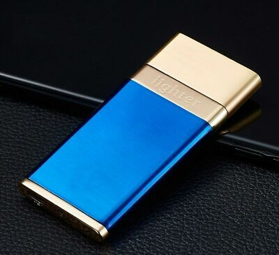 USB Rechargeable Single-Arc Lighter Windproof Lighter For Candle, Cigarette • 6.49£