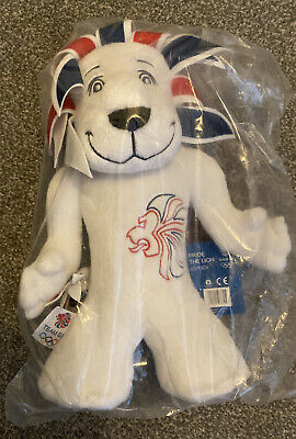 "Team GB Pride The Lion Mascot Plush Soft Toy Olympics Great Britain London 12"" • 10£"