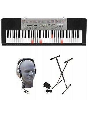 $169.95 • Buy Casio LK-190 61-Key Premium Lighted Keyboard Pack With Stand, Headphones & Power
