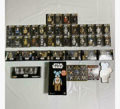 $563.90 • Buy Star Wars BearBrick Complete 37 Types Last One, Special Award 400% BB-8 Sets