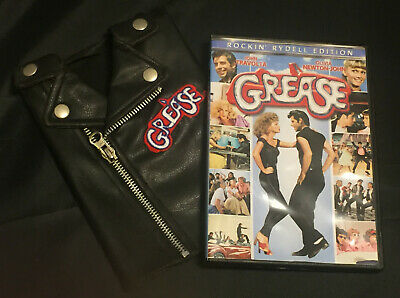 £5.05 • Buy Grease Rockin' Rydell Edition DVD With T-Birds Faux Leather Jacket Packaging
