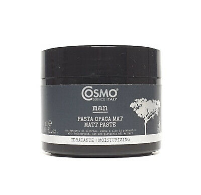 Cosmo Organic Natural Beard / Hair /Moustache Paste Wax Matt 50ml Barbershop Pro • 14.90£