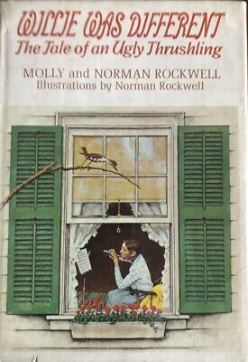 $ CDN255.18 • Buy Norman Rockwell- Signed Hardbound Book,  Willie Was Different