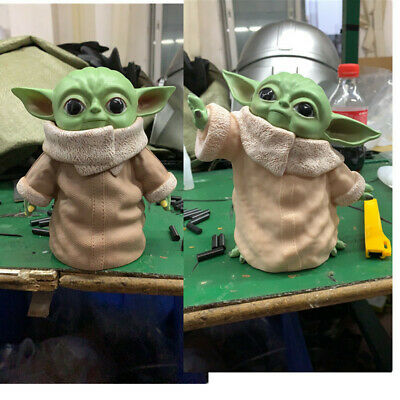 $49.99 • Buy Star Wars Yoda Master Yoda Baby Version PVC Decoration Stuffed Toy For Gifts