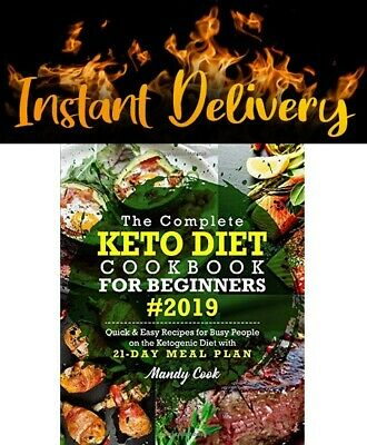 $0.99 • Buy (P.D.F) The Complete Keto Diet Cookbook For Beginners (2019) - Instant Delivery