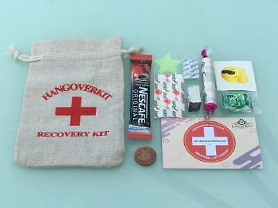 Hangover Survival KIT Hen Party Hen Birthday Wedding Favor Table 18th Stag Do  • 2.99£