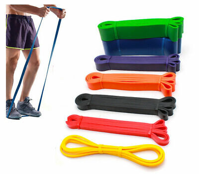 $ CDN5.97 • Buy Heavy Resistance Bands Loop Strong Duty Exercise Sport Fitness Gym Yoga Pull UK