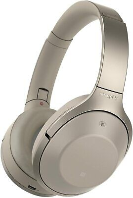 SONY MDR-1000X Wireless Bluetooth Noise- Cancelling Headphones Beige-Brand New • 229.99£