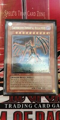 Yugioh Earthbound Immortal Aslla Piscu RGBT-EN019 Ultimate Rare 1st Edition • 44.99£