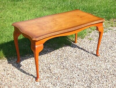 £25 • Buy Oblong Coffee Table ~ With Elegant Cabriole Legs